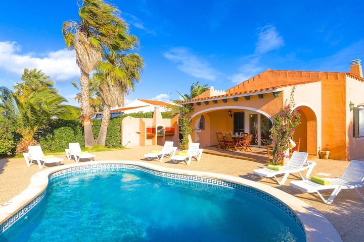 Villa Vicmar - Holiday Rental by the Sea in Menorca, Spain