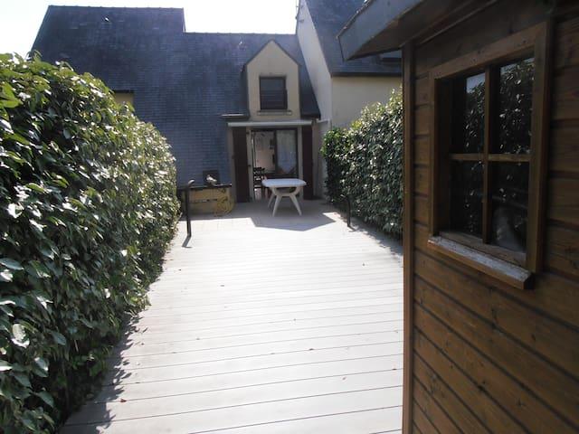 maisonnette dans résidence privative - Batz-sur-Mer - Casa