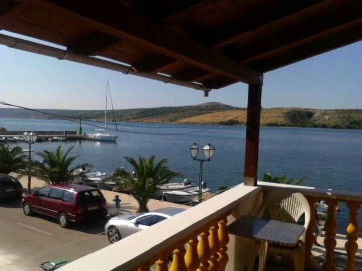 apartments by the sea in Posedarje Ap 2