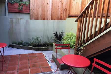 Urban retreat w/Parking, close to UCSF MB and more