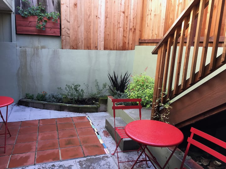 Urban retreat w/Parking, minutes to UCSF MB & more