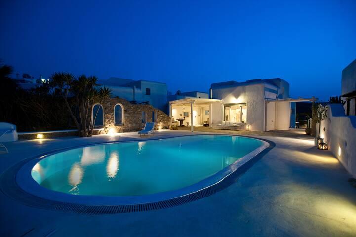 Mykonos Pool Villa Ftelia