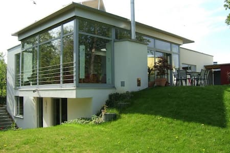Stunning house with pool/subway to Stuttgart &fair - Ludwigsburg - Ev