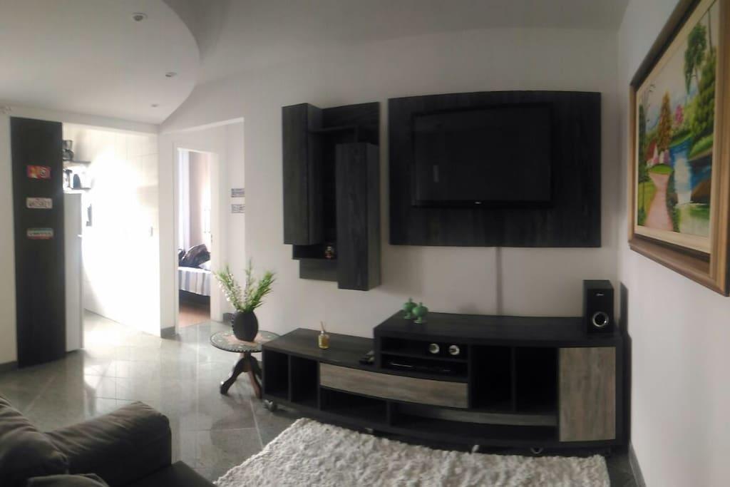 Apartamento pronto para sua estadia