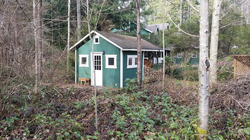 Tiny Cabin at Wildwood Inn - Snohomish - Houten huisje
