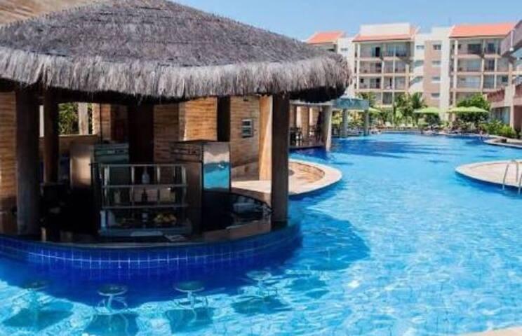Wellness Resort - em frente ao Parque Aquático