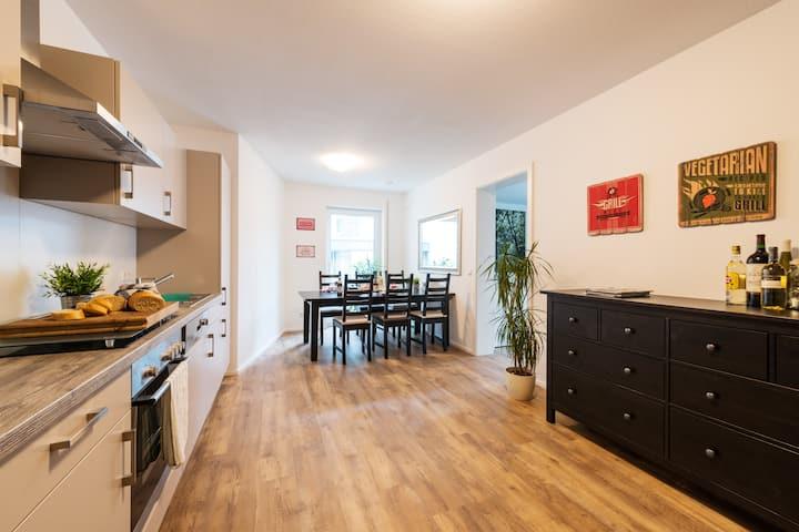 Zentral,modern wohnen in BC/Good living atmosphere