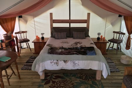 Rainforest*Remote*Oceanfront*Private*Safari Tent