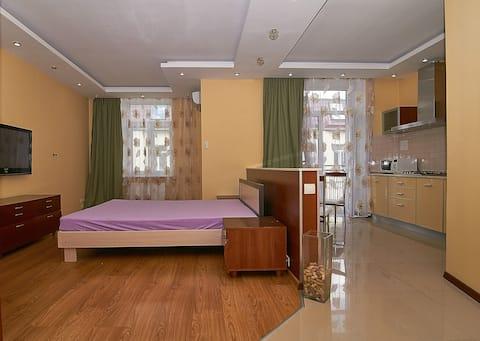 Modern studio-apartment, 41 Antonovycha street