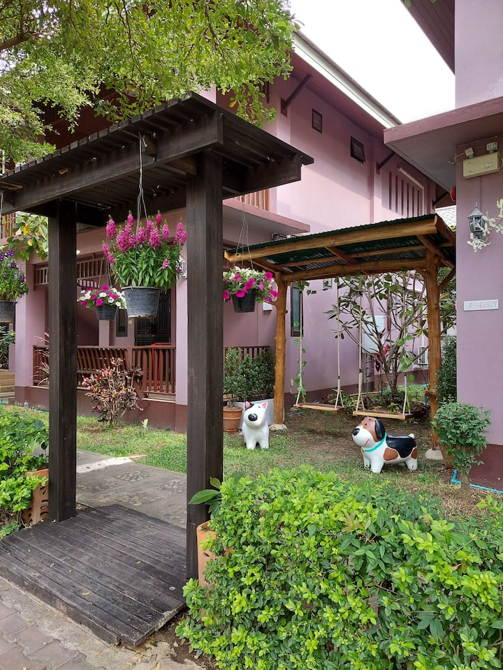 Family-3 room type, Large room with private area