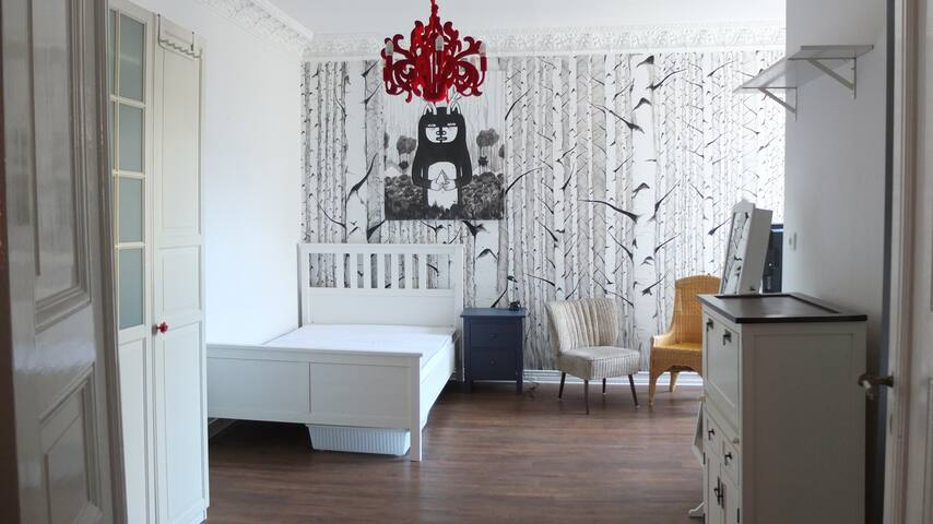 Spacious Room in central Berlin