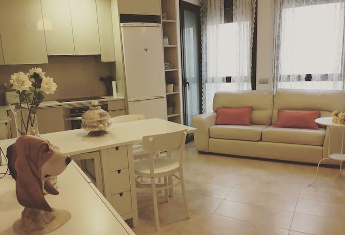 Apartamento iluminado - Terrassa - Apartamento