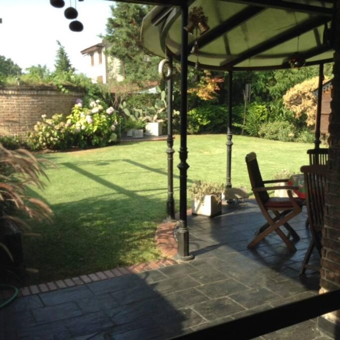 Hermoso jardín!