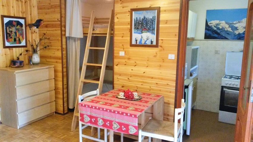 Cosy bright apartment in Gressoney town-Monte Rosa - Gressoney-Saint-Jean - Apartment