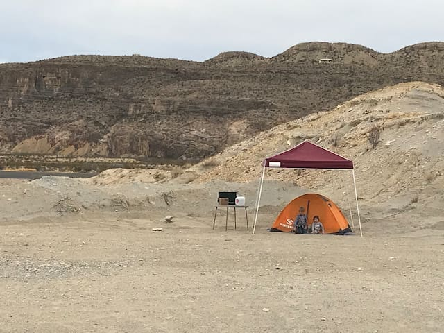 Lost Gringo Tent Camping