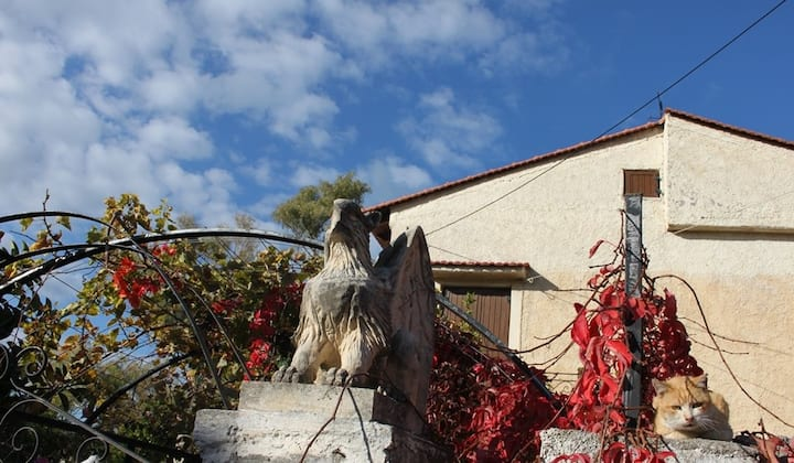 """The Griffins' Treasure"" Farmhouse, Pigi, Rethymno"