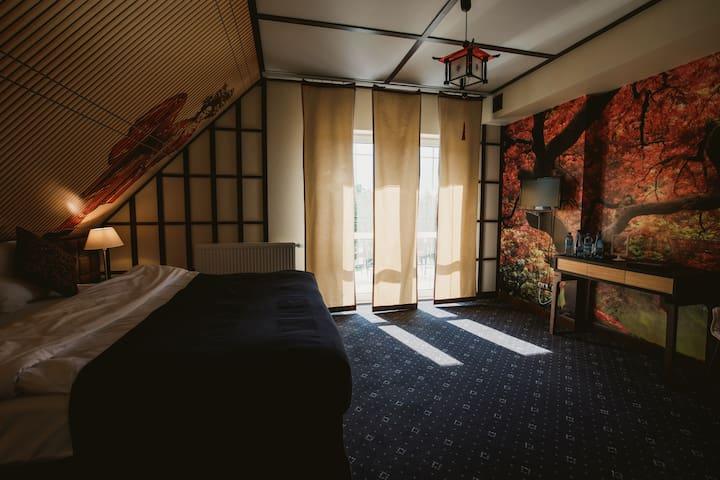 Pokój Kyoto dla trzech osób