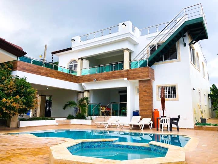 Villa confortable para disfrutar