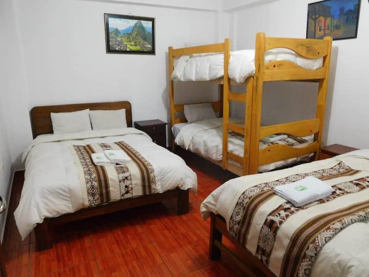 matimonial+2adicionalel/ sol naciente/Machu Picchu