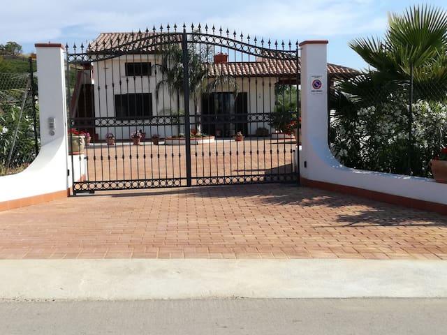 Villa Peppino, suite privata con terrazzo in villa