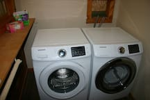 Front load laundry pair