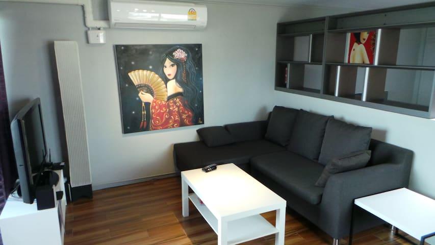 Sukhumvit Metro Phra khanong Wifi - Banguecoque - Apartamento