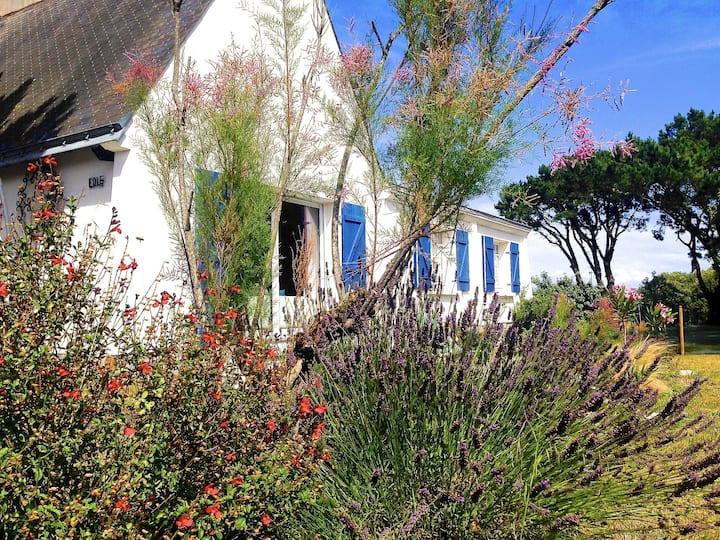 Villa avec Jardin à 250 m de l'océan WIFI
