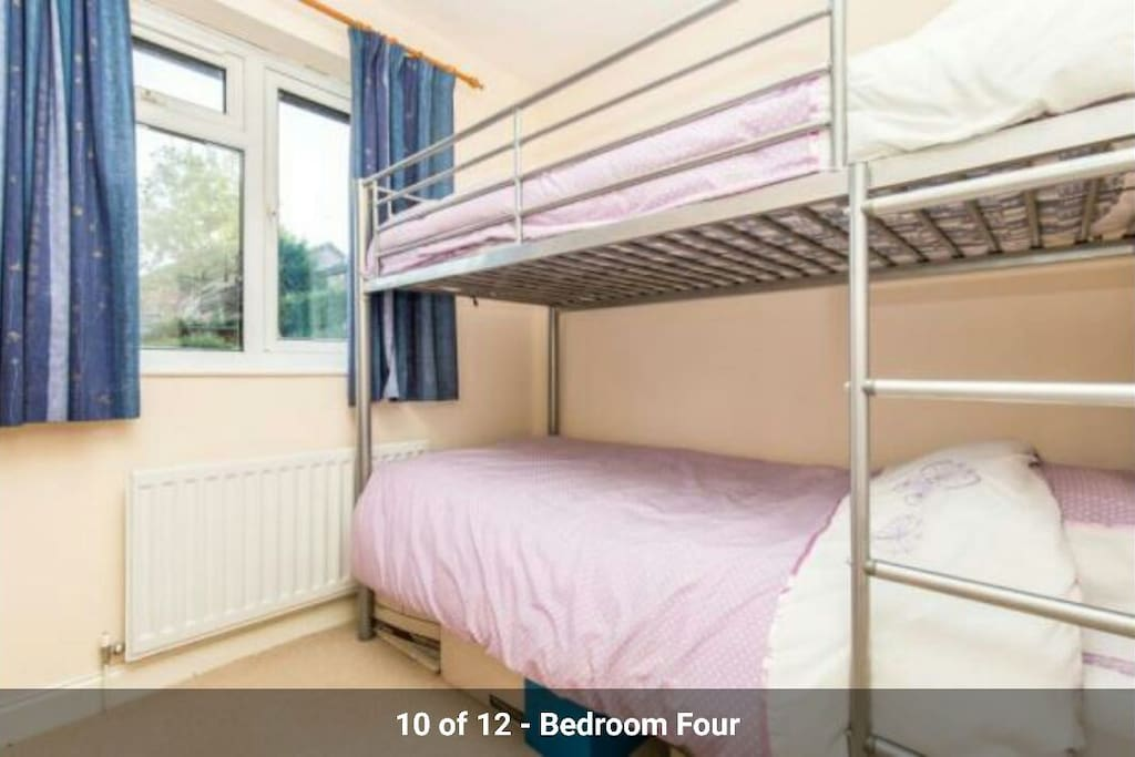 Bunk beds suitable for Age 5/12