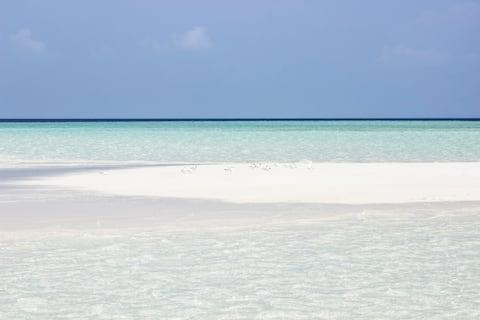 Holiday COTTAGE, Thoddoo Island, Maldives