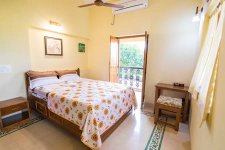 Baga Themed Room in Villa  Divar. Island ,Goa