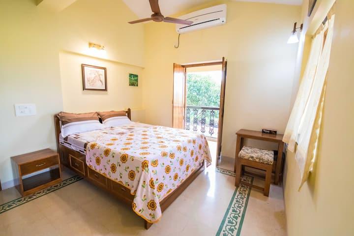 Baga Themed Room in Villa  Divar. Island ,Goa