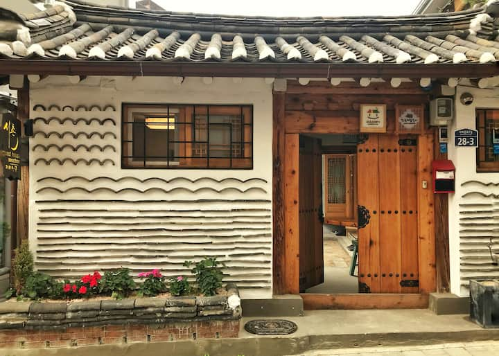 the spirit of Seoul, Seochon Guesthouse (Nan room)
