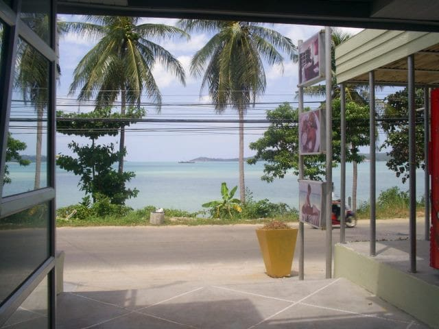 Direct Beach front one bedroom  2 story apartment - Ko Samui - Townhouse