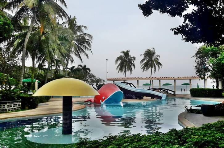 คอนโดบ้านแสนสราญ ติดทะเลหัวหิน - Amphoe Hua Hin - Apartment