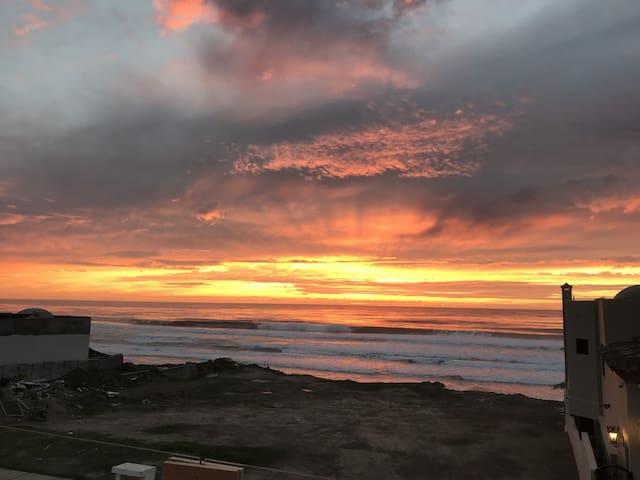 Sunset Sandy Beach GetAway 2