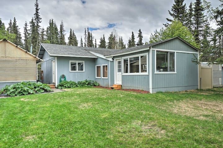 NEW! Convenient Kenai Apt - 3mi to Beach & Fishing