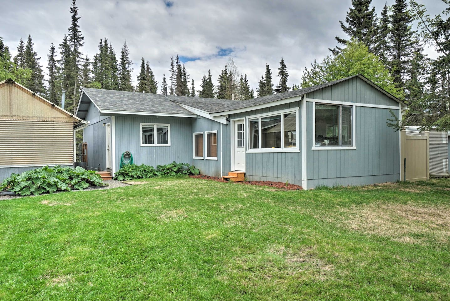Book a trip to this 1-bedroom, 1-bathroom vacation rental home in Kenai!