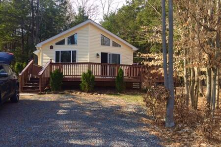 Romantic mountain hideaway, soak in the serenity! - Albrightsville - Σπίτι διακοπών