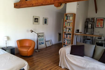 Loft, recently decorated with separate entrance. - L'Étang-la-Ville