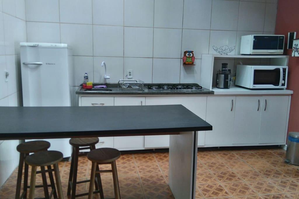 Cozinha planejada com eletros cozinha completos