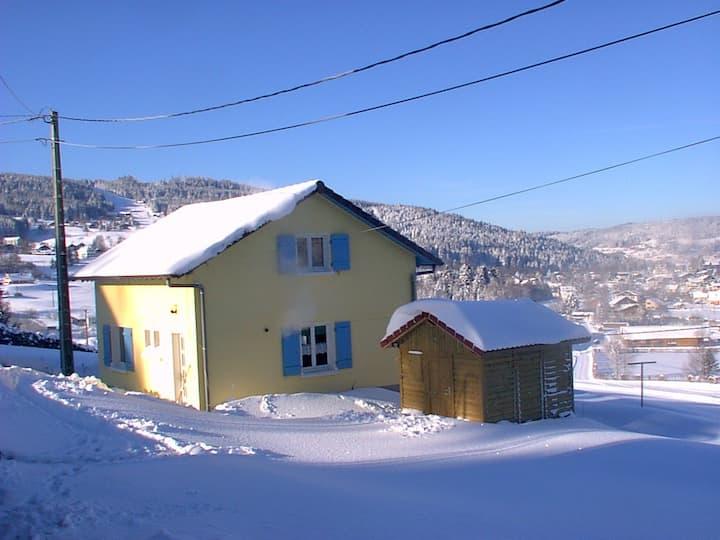 Maison cosy dans la vallée des lacs à Gérardmer