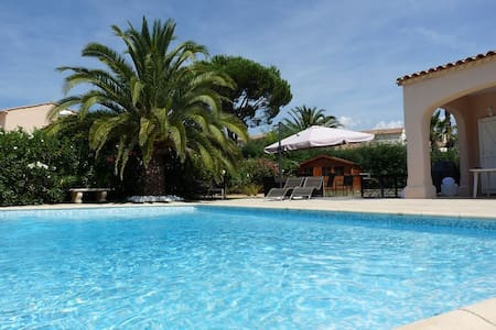 Lovely villa with swimming pool - Grimaud - Haus