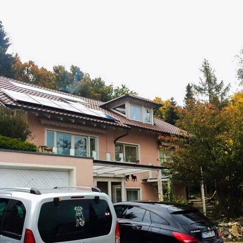 Casa del Nucki im Naturpark Obere Donau - Irndorf - Apartamento