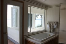 MASTER BATHROOM and note your own private balcony off the master bedroom