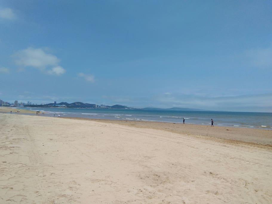 万达茂东方影都海滩