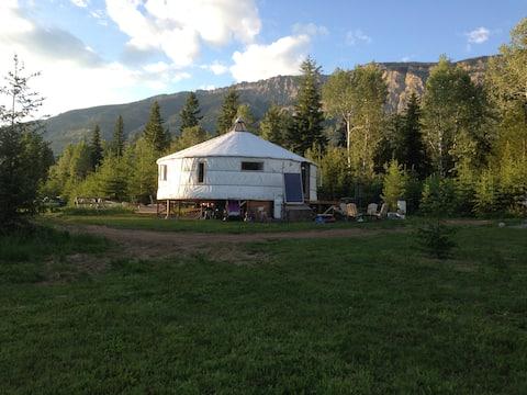 Off Grid Yurt At Inshallah