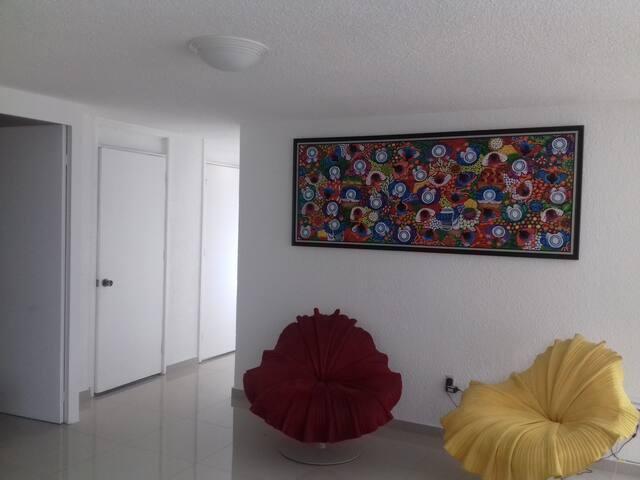 Room near from Chapultepec - เม็กซิโกซิตี้ - อพาร์ทเมนท์