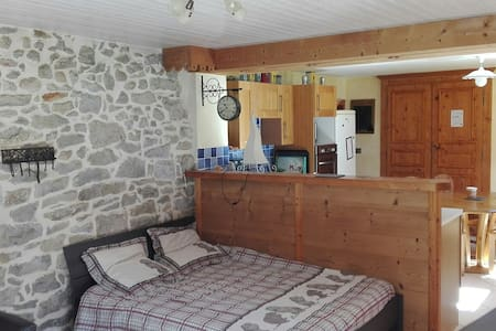 Appartement avec pâturages au calme - Les Bouchoux - Wohnung