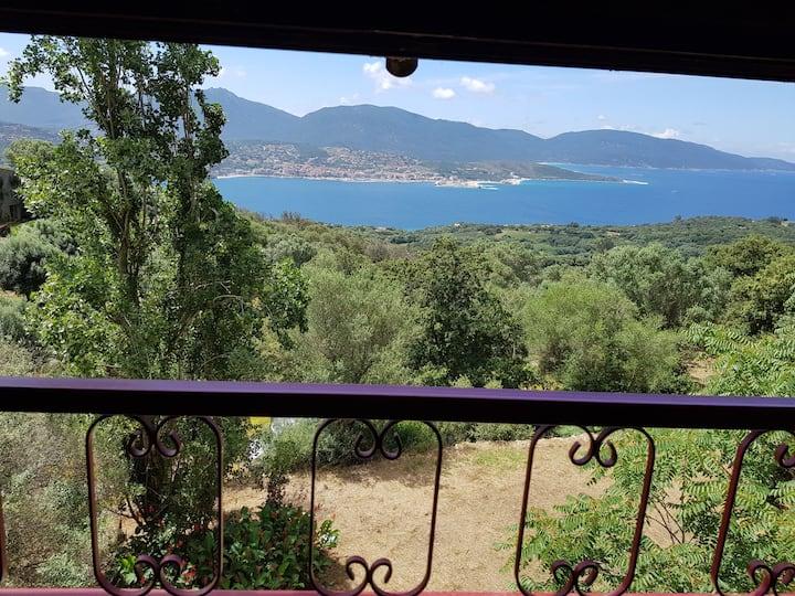 Propriano - Olmeto F3 en résidence proche mer