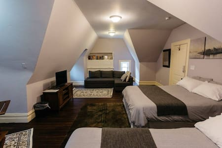 Double Queen Bedroom at Harvest Home CWE